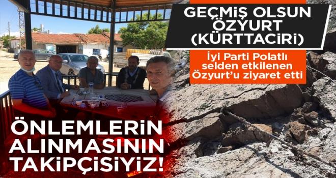 İYİ Parti'den Özyurt'a geçmiş olsun ziyareti!