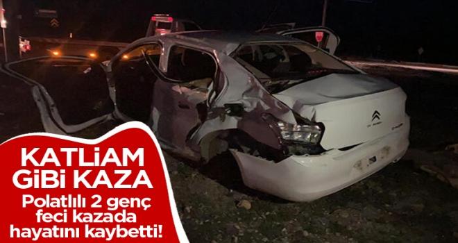 TIR ile otomobil çarpıştı! 3 kişi hayatını kaybetti