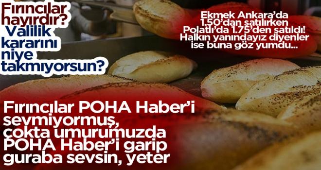 Ankara'da ekmek zammı iptal edildi