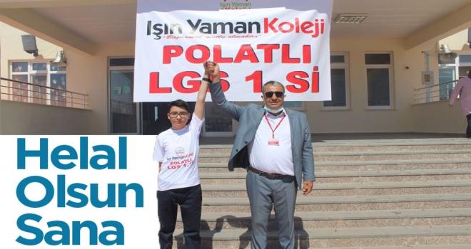 LGS Polatlı 1'ncisi Işın Yaman Koleji'nden