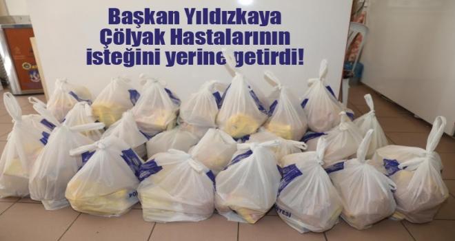Başkan Yıldızkaya Çölyak Hastalarını Yalnız Bırakmadı!