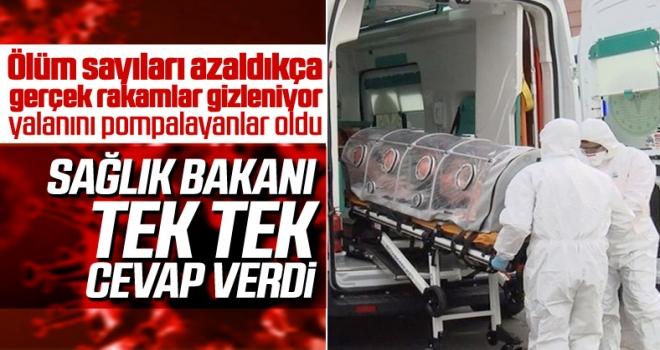 Sağlık Bakanı Fahrettin Koca: Ölüm rakamları gizlenemez