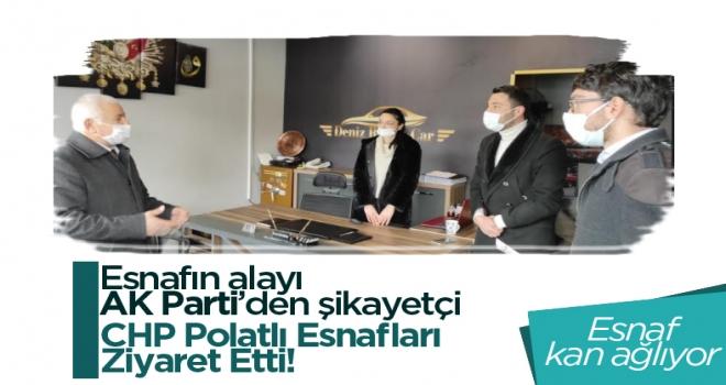CHP Polatlı: esnafa yönelik 17 maddelik çözüm önerilerini anlatmaya devam ediyor!