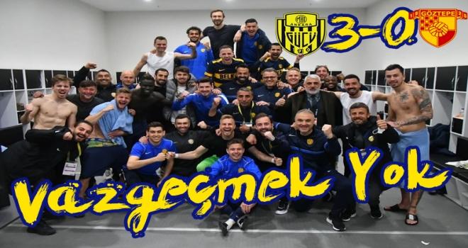 Ankaragücü, Göztepe'yi 3 golle mağlup etti