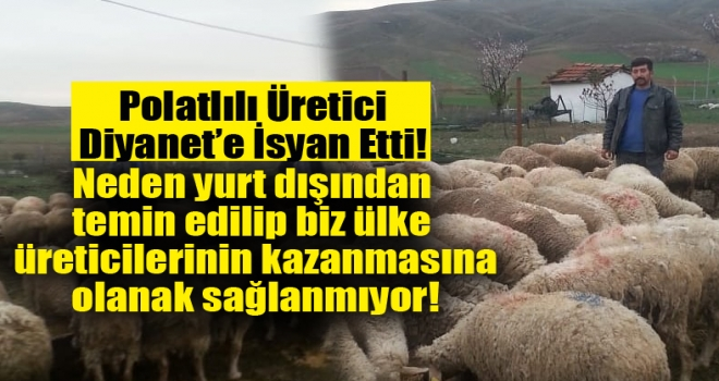 Serdar Koyuncu: Diyanet'in bağış yapılarak aldıkları kurbanlıklar yerli değil, ithal!