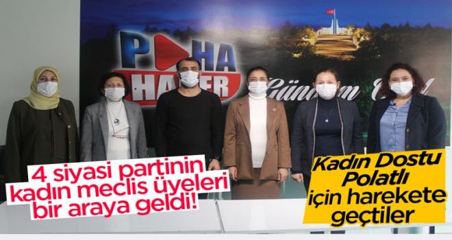 'Kadın Dostu Polatlı' için harekete geçtiler!
