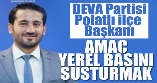 Sadık Serhat Uğurlu: Amaç yerel basını susturmak!