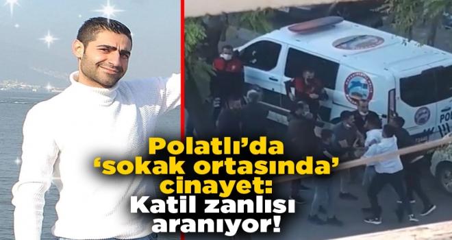 Polatlı'da sokak ortasında cinayet: katil zanlısı her yerde aranıyor!