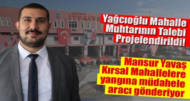 Yağcıoğlu Muhtarı Tuncay Su Söz Vermişti: Sözünü Tuttu!