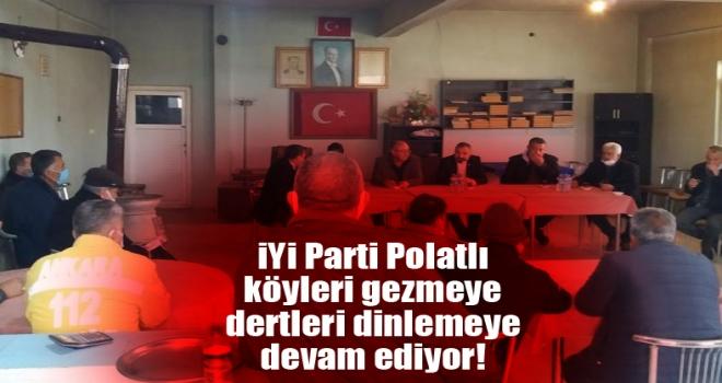 İYİ Parti Polatlı köy ziyaretlerine devam ediyor!