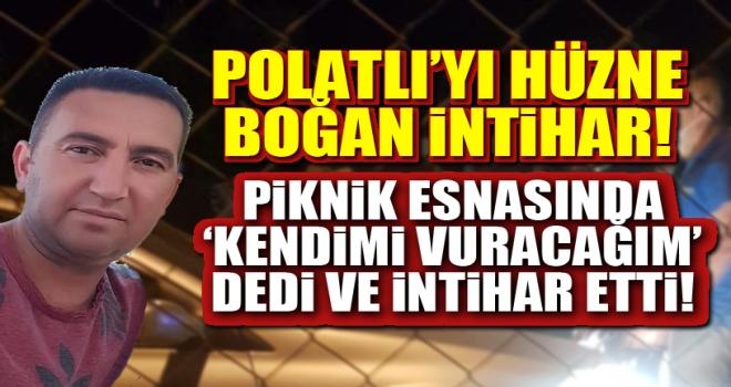 Polatlı'da 4 arkadaşın pikniği ölümle sonuçlandı!