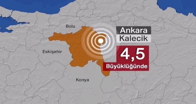 4.5 büyüklüğündeki deprem sonrası uyarı