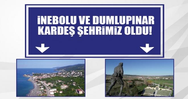 Son dakika... Polatlı, İnebolu ve Dumlupınar 'Kardeş Şehir' oldu!