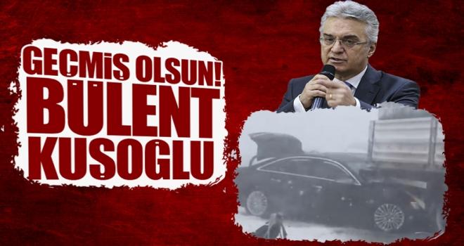 CHP Genel Başkan Yardımcısı Polatlılı Hemşehrimiz Bülent Kuşoğlu, kaza geçirdi