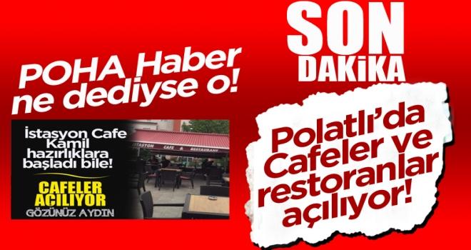 Cumhurbaşkanı Erdoğan Açıkladı: Cafeler ve Restoranlar Açılıyor!