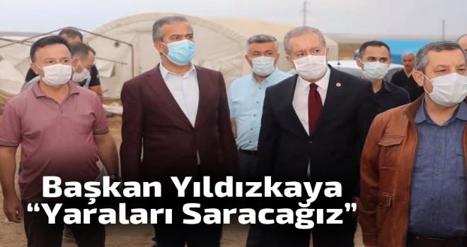 Başkan Yıldızkaya: Yaraları Birlikte Saracağız