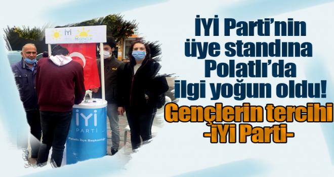 İYİ Parti'nin Üyelik Standına Polatlılıların İlgisi Yoğun Oldu!