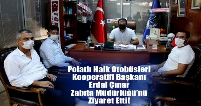 Çınar'dan Zabıta Müdürlüğü'ne Ziyaret!