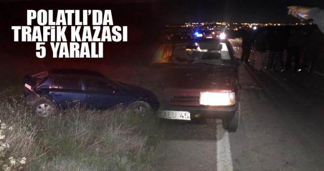 Polatlı'da 3 aracın karıştığı kazada 5 kişi yaralandı!