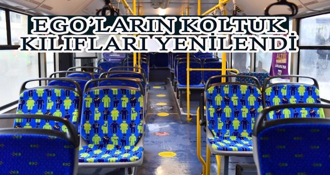 EGO Otobüslerinin Yeni Koltuk KIlıflarını Vatandaş Seçti