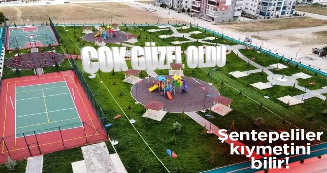 Polatlı Belediyesi tarafından Şentepe Mahallesi'ne yapılan park büyük beğeni topladı!