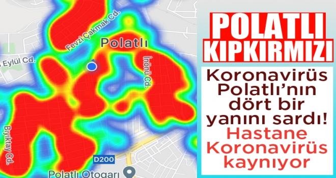 Polatlı'da Koronavirüs artışı devam ediyor!