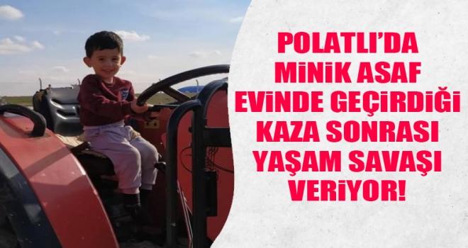 3 yaşındaki Bünyamin Asaf dualarınızı bekliyor!