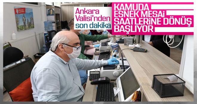 Polatlı dahil Ankara'da kamuda esnek mesai esasları belirlendi