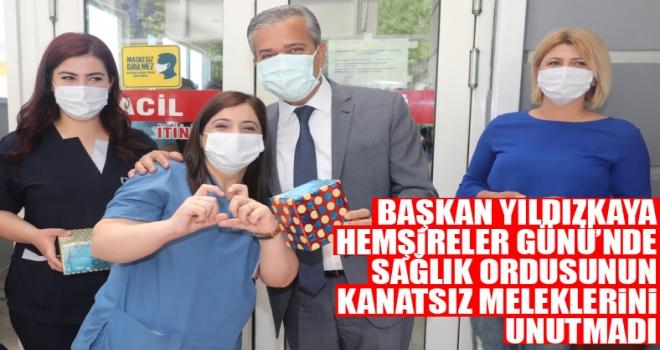 Başkan Yıldızkaya, Hemşireler Günü'nde Sağlık Ordusunun Kanatsız Meleklerini Unutmadı!
