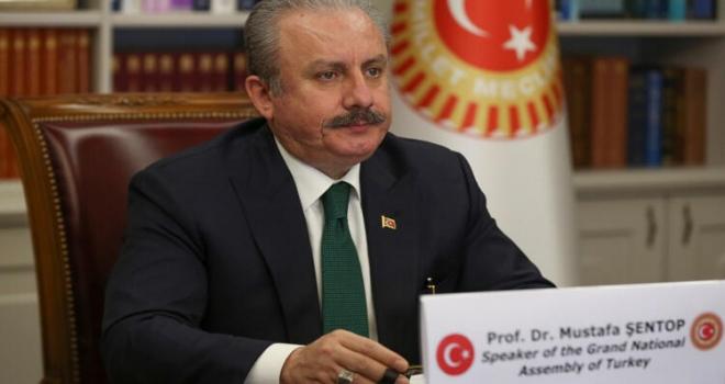 TBMM Başkanı Mustafa Şentop: 160'a yakın ülkeye yardımda bulunduk