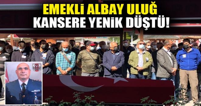 Emekli Albay Orhan Uluğ, Polatlı'da son yolculuğuna uğurlandı!
