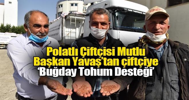 Mansur Yavaş'tan Polatlı çiftçisine destek!