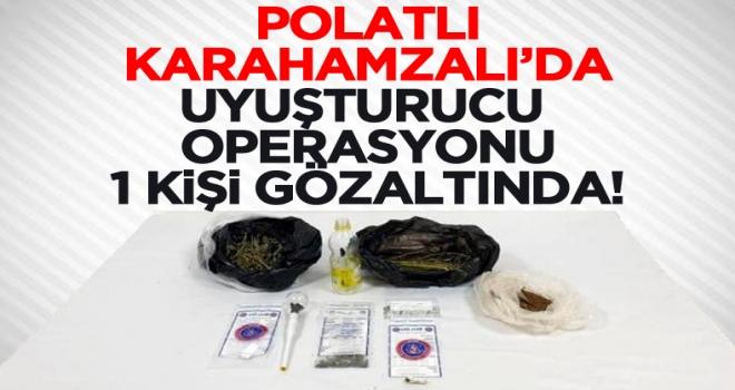 Son dakika: Polatlı'daki uyuşturucu operasyonunda 1 kişi gözaltına alındı