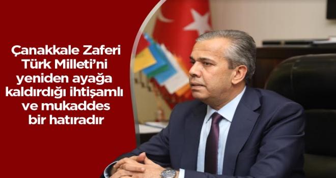 Polatlı Belediye Başkanı Yıldızkaya'nın 18 Mart Çanakkale Zaferi mesajı