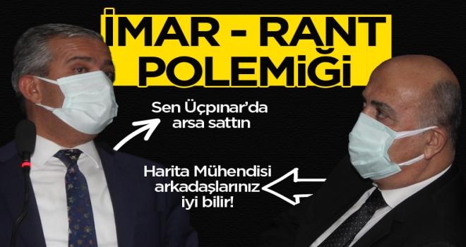 Mürsel Yıldızkaya ve Selami Ovacık arasında imar rantı tartışması!