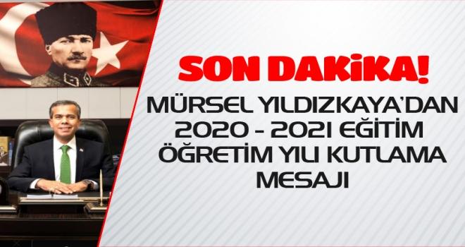 Başkan Yıldızkaya'dan Yeni Eğitim Ve Öğretim Yılı Mesajı