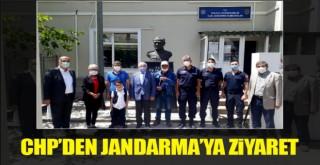 CHP'den Polatlı İlçe Jandarma'ya Ziyaret!