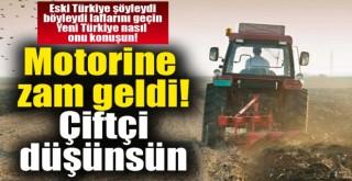 Polatlı çiftçisini üzecek haber: Motorine 35 kuruş zam geldi!